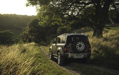 2020 Land Rover Defender wallpaper thumbnail.