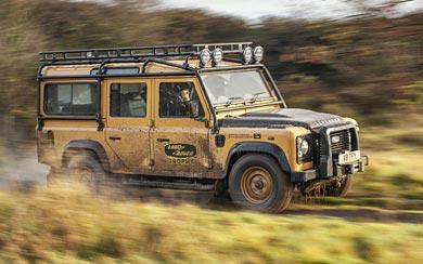 2021 Land Rover Defender Works V8 Trophy wallpaper thumbnail.