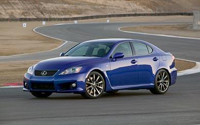 2008 Lexus IS-F wallpaper thumbnail.