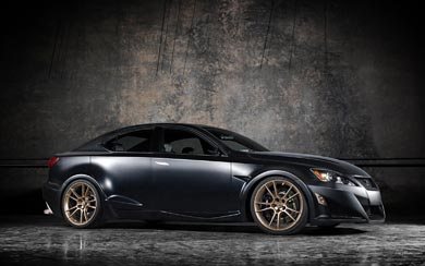 2009 Lexus IS-F Five Axis Project wallpaper thumbnail.