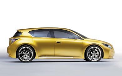2009 Lexus LF-Ch Concept wallpaper thumbnail.