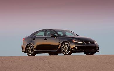 2011 Lexus IS-F wallpaper thumbnail.