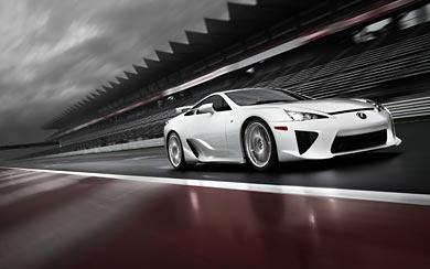 2011 Lexus LFA wallpaper thumbnail.