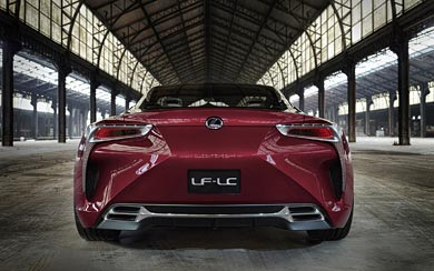 2012 Lexus LF-LC Concept wallpaper thumbnail.