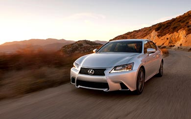 2013 Lexus GS 350 F Sport wallpaper thumbnail.