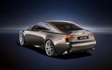 2013 Lexus LF-CC Concept wallpaper thumbnail.