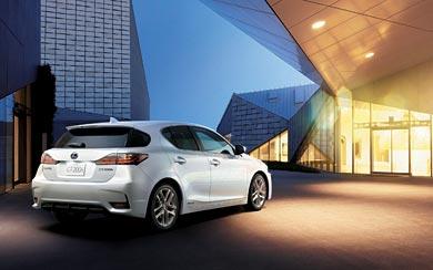 2014 Lexus CT 200h wallpaper thumbnail.