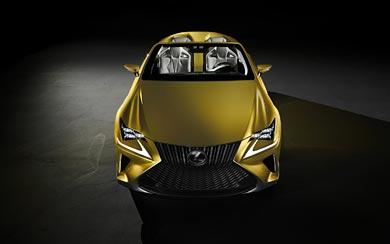 2014 Lexus LF-C2 Concept wallpaper thumbnail.