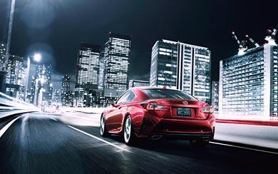 2014 Lexus RC wallpaper thumbnail.