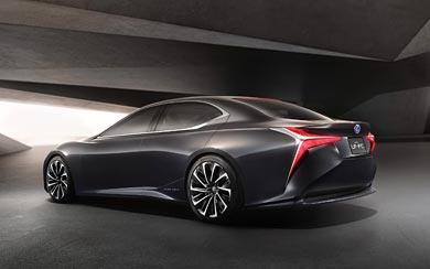 2015 Lexus LF-FC Concept wallpaper thumbnail.