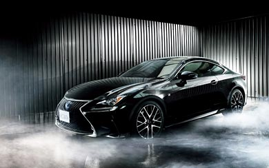 2015 Lexus RC wallpaper thumbnail.