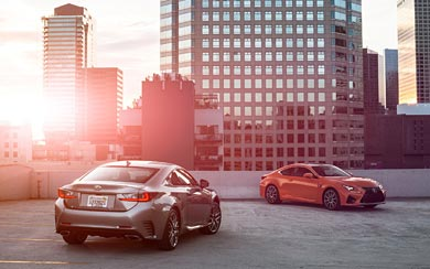 2015 Lexus RC F wallpaper thumbnail.