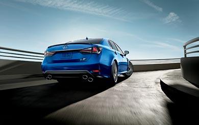 2016 Lexus GS F wallpaper thumbnail.