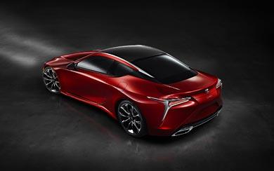 2017 Lexus LC 500 wallpaper thumbnail.