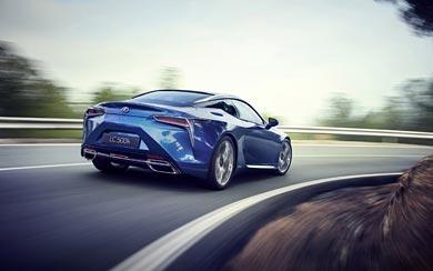 2017 Lexus LC 500h wallpaper thumbnail.