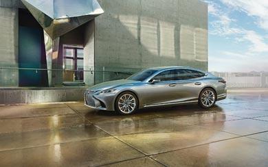 2018 Lexus LS 500 wallpaper thumbnail.