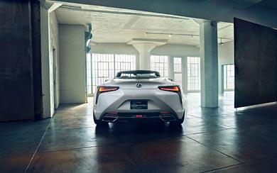 2019 Lexus LC Convertible Concept wallpaper thumbnail.