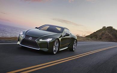 2020 Lexus LC 500 Inspiration Series wallpaper thumbnail.