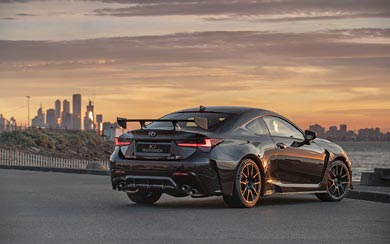 2020 Lexus RC F Track Edition wallpaper thumbnail.