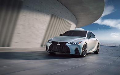 2021 Lexus IS wallpaper thumbnail.