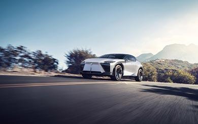2021 Lexus LF-Z Electrified Concept wallpaper thumbnail.