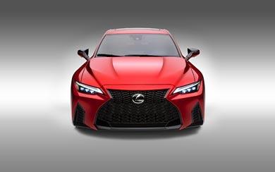 2022 Lexus IS 500 F Sport Performance wallpaper thumbnail.
