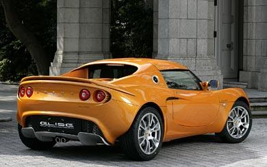 2008 Lotus Elise SC wallpaper thumbnail.