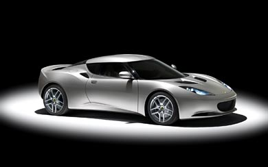 2009 Lotus Evora wallpaper thumbnail.