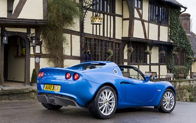 2010 Lotus Elise wallpaper thumbnail.