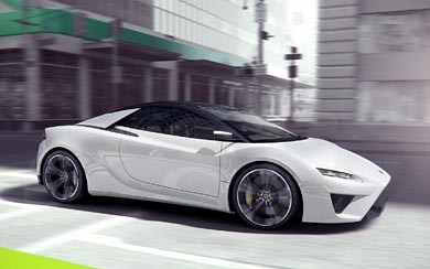 2010 Lotus Elise Concept wallpaper thumbnail.