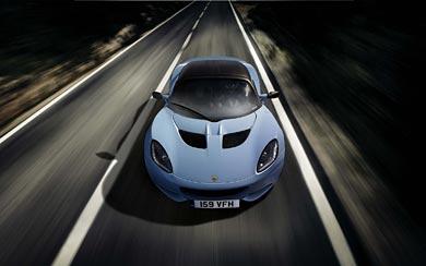 2012 Lotus Elise Club Racer wallpaper thumbnail.
