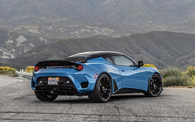 2020 Lotus Evora GT wallpaper thumbnail.