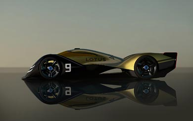 2021 Lotus E-R9 Concept wallpaper thumbnail.