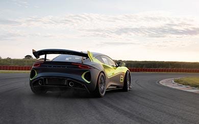 2021 Lotus Emira GT4 Concept wallpaper thumbnail.