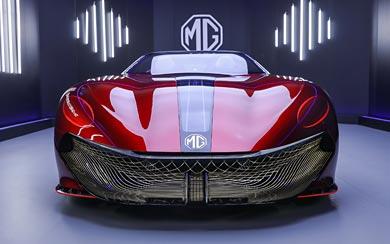 2021 MG Cyberster Concept wallpaper thumbnail.