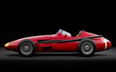 1954 Maserati 250F wallpaper thumbnail.