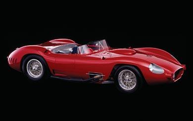 1956 Maserati 450S wallpaper thumbnail.