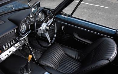 1963 Maserati Mistral Spyder wallpaper thumbnail.