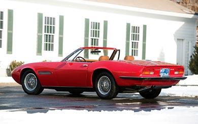 1969 Maserati Ghibli Spyder wallpaper thumbnail.