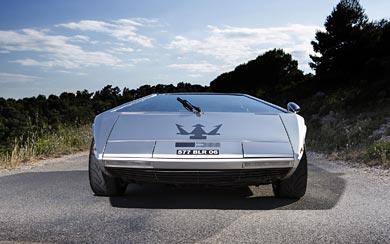 1972 Maserati Boomerang Concept wallpaper thumbnail.