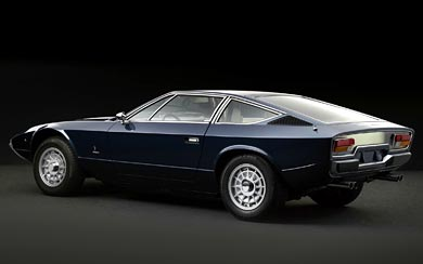 1973 Maserati Khamsin wallpaper thumbnail.