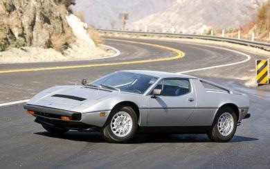 1976 Maserati Merak SS wallpaper thumbnail.