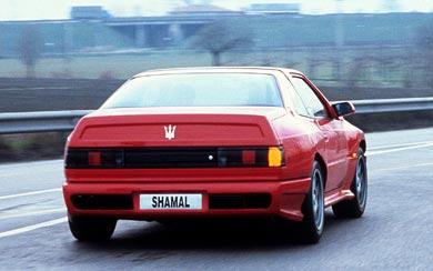 1990 Maserati Shamal wallpaper thumbnail.