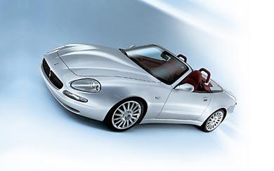 2001 Maserati Spyder wallpaper thumbnail.