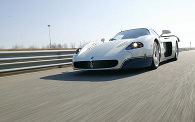 2005 Maserati MC12 wallpaper thumbnail.