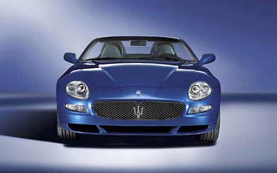 2005 Maserati Spyder GT 90th Anniversary wallpaper thumbnail.