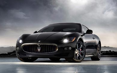 2008 Maserati GranTurismo S wallpaper thumbnail.