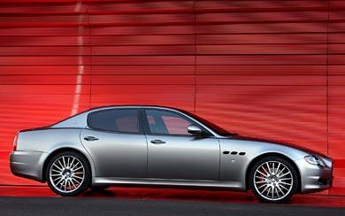 2009 Maserati Quattroporte Sport GT-S wallpaper thumbnail.