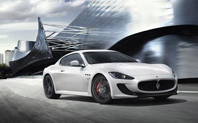 2011 Maserati GranTurismo MC Stradale wallpaper thumbnail.