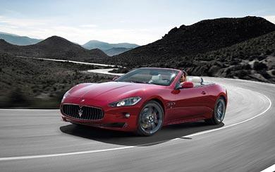 2012 Maserati GranCabrio Sport wallpaper thumbnail.